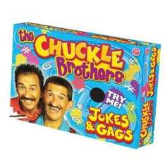 Chuckle Brothers Brilliant Box of Gags £2.98 del @ Amazon