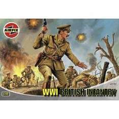 Airfix WWI British Infantry Figures Classic Kit Series 1- £2.67 (more in post) at Amazon