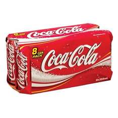 Coca-cola coke 16 cans for £3.50 - under 22p a can Morrisons