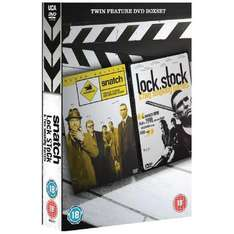 Snatch/Lock, Stock And Two Smoking Barrels DVD £4 @ Asda in-store