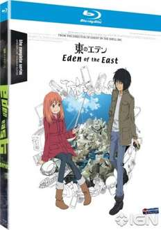 Eden Of The East Complete Series on Blu-Ray £7.45 @ zavvi