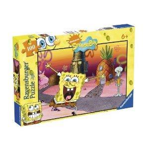 Ravensburger SpongeBob Squarepants 100 piece jigsaw puzzle - save £3 - £3.99 delivered @ Amazon