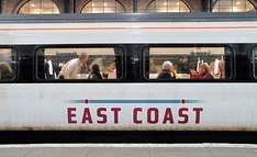 East Coast Rail - 1/3 on each ticket when you travel in a group of 3+ people