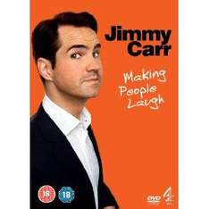 Jimmy Carr Making People Laugh DVD £2.99 delivered at amazon
