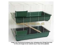 Large Two Storey Cage for Guinea Pigs, Rabbits, Ferrets etc £38.32 Delivered @ Viovet