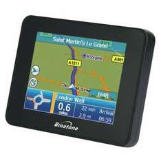 BINATONE B350 GPS SATELLITE NAVIGATION UK & IRELAND  (refurb) £29.99 delivered @ tesco outlet