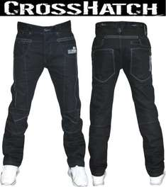 """Crosshatch Mens Jeans *£9.99 Delivered* @ Crown Sports ltd Ebay store - EDIT only up to 30"""" waist remaining :("""