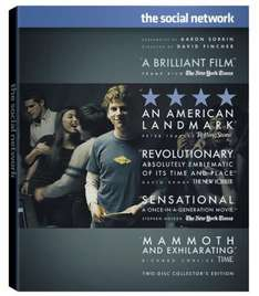 Social Network 2 Disc Blu Ray Set £7.59  @ MyMemory.co.uk *using code*