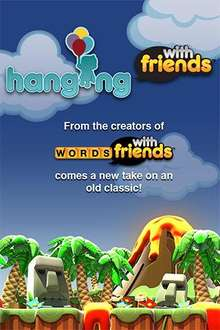 Hanging with Friends (like Words with Friends) - iphone app reduced to 59p @ itunes