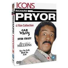 Richard Pryor Boxset: Car Wash/Stir Crazy/Brewster's Millions/See No Evil, Hear No Evil DVD £6.16 delivered @ The Hut