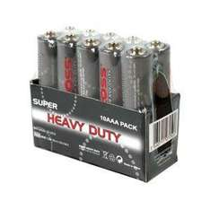 Uniross AAA Heavy Duty Zinc Batteries 10 Pack - £1.49 - Amazon
