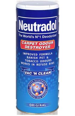 Neutrodol Original Carpet Deodorizer 525 g (Pack of 12) - £3.84 @ Amazon