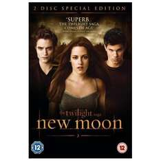 The Twilight Saga: New Moon - Special Edition (2 Discs) DVD only £2.99 delivered @ Play.com