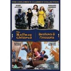 Swallows and Amazons/The Railway Children DVD £4.37 @ Amazon