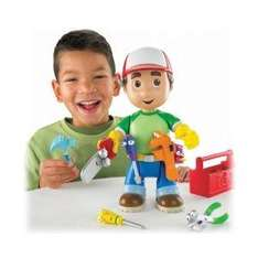 Fisher-Price Handy Manny Let's Get to Work Manny Figure - half price - £12.89 del @ Amazon