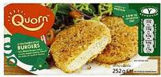 Quorn Chicken Style Burgers (4 per pack) 2 packs for £2 (usualy £1.89 each) @ Tesco