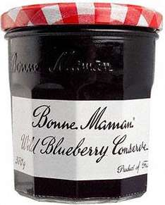 'Bonne Maman' Rasberry or Wild Blueberry Conserve (370g) buy 2 for £3 (£2.59 each) @ Sainsburys