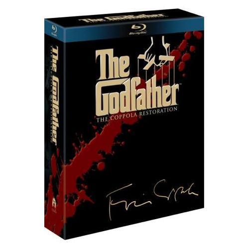 The Godfather Trilogy: The Coppola Restoration (4 Discs) (Blu-ray) @Play £17.99