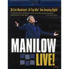 Barry Manilow Live on BLU RAY - £4.25 delivered at Amazon