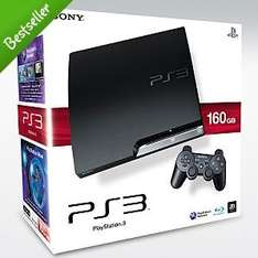 Playstation 3 160GB Slim PS3 only £187.20 with Quidco @ Asda Direct