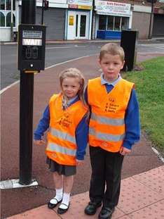 Free High Visibility Vest for Kids (age 4-9)