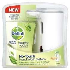 dettol no touch hand wash dispenser is only£4.99 was 9.99 @ Superdrug