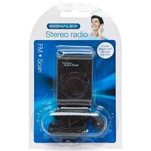 Signalex Stereo Radio with headphones  £1 @ poundland