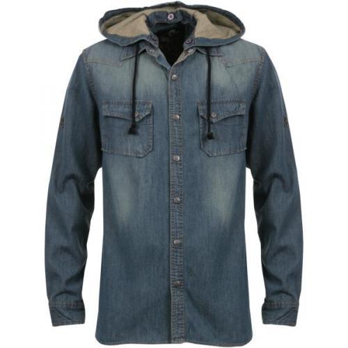 Henleys mens denim shirt @ Henleys Ebay outlet £19.98 delivered