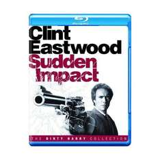Clint Eastwood Dirty Harry films Sudden Impact, Dead Pool, The Enforcer - £4.49 each on BluRay @ play.com