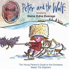 Peter and the Wolf narrated by Dame Edna Everage - £1.50 delivered @ Tesco Outlet