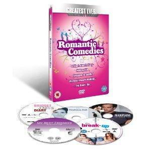 Greatest Ever Romantic Comedies 5 DVD set - £6 @ Tesco