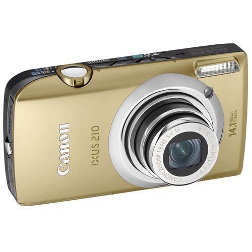 Canon Ixus 210 Digital Camera in Gold £99.95 @ Jessops