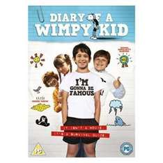 Diary Of A Wimpy Kid (DVD) - £4.99 delivered at Play.com