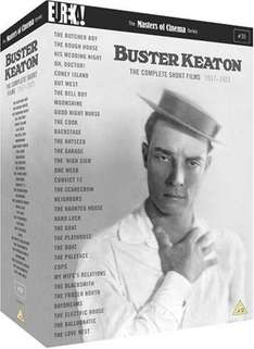 The Complete Buster Keaton Short Films [Masters of Cinema] [4DVD] £15.99 del @ Eureka Entertainment