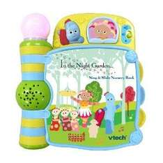 VTech In the Night Garden Sing and Slide Nursery Book - half price - £8 del @ Amazon