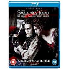 Sweeney Todd. Brand New BluRay - Tesco Ebay Outlet - £5 Delivered