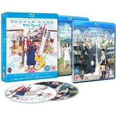 Summer Wars / The Girl Who Leapt Through Time [Blu-ray]  £6.93 at Amazon