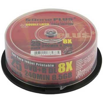 Aone DVD+R DL 8.5GB Storage Media @ Scan.co.uk