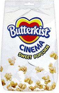 Butterkist Toffee Popcorn (200g) & Butterkist Cinema Sweet Popcorn (120g) £1 in WHSmith