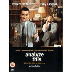 Analyze This (DVD) - Robert De Niro & Billy Crystal £1 delivered @ Ebay Tesco Outlet