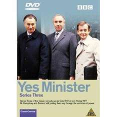 Yes Minister - Series 3 - £2 delivered first class @ Tesco Outlet