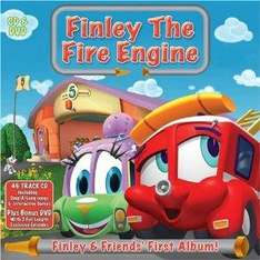 Finlay the Fire Engine CD & DVD £2 delivered @ Tesco Ebay