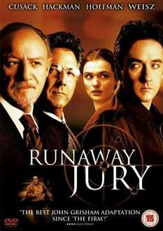 Runaway Jury DVD £2 at Tesco delivered first class