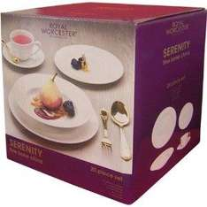 Royal Worcester Serenity Bone China 20 piece Dinner/Tea Set £55.50 Delivered  (via China Presentations.)