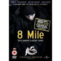 8 Mile DVD £2.99 at Amazon & Play