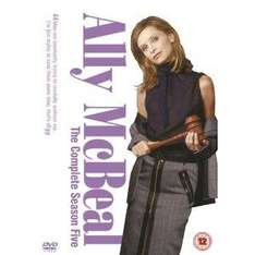 Ally McBeal - Season 5 - 6 DVD Set £3 delivered First Class @ Tesco Ebay