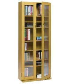 OAK FINISH CD AND DVD MEDIA TOWER WITH DOORS £24.98 at Argos(ebay)