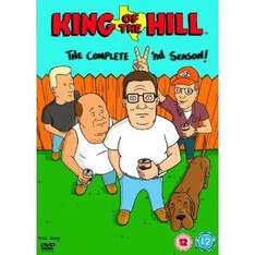 King Of The Hill - Complete Series 2 (DVD) £5 delivered @ Tesco
