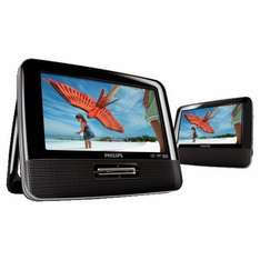 PHILIPS PD7022 PORTABLE DVD PLAYER DUAL SCREEN £89.95 @ tesco_outlet / Ebay