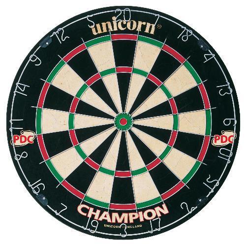 Unichorn Dart Board  £3.50 @ Tesco (Bristle & Tournament size)